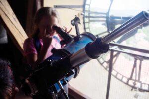 Z teleskopem